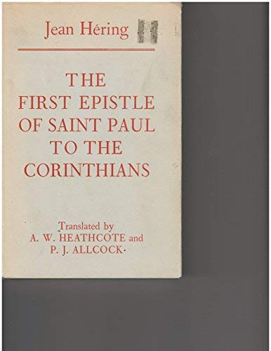 9780716201038: First Epistle of Saint Paul to the Corinthians