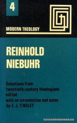 9780716202189: Reinhold Niebuhr (Modern theology)