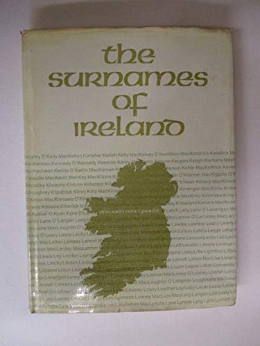 9780716505013: Surnames of Ireland