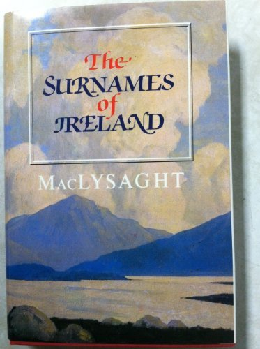 9780716523673: Surnames of Ireland Cl