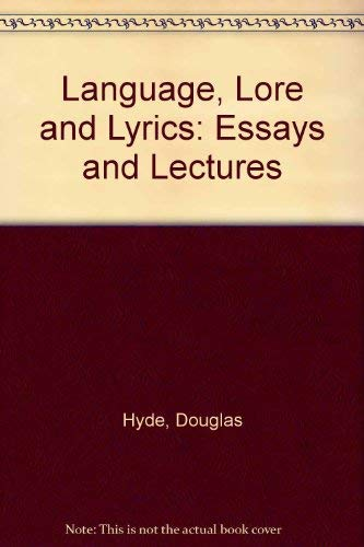 9780716523734: Language, Lore and Lyrics: Essays and Lectures
