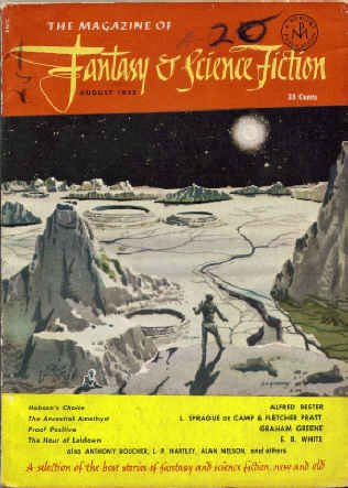 9780716552086: The Magazine of Fantasy and Science Fiction, August 1952