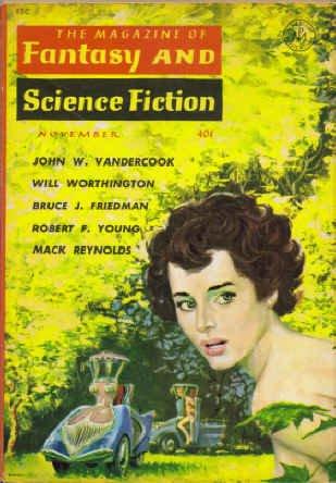 The Magazine of Fantasy and Science Fiction, November 1960 (Vol. 19. No. 5) Robert P. Mills