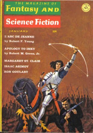 9780716566014: The Magazine of Fantasy and Science Fiction, January 1966 (Volume 30, No. 1)