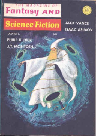 9780716566045: THE MAGAZINE OF FANTASY AND SCIENCE FICTION APRIL 1966