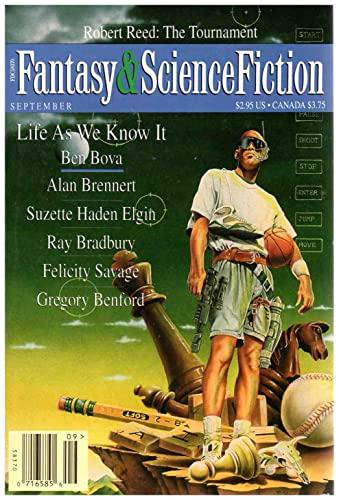 The Magazine of Fantasy and Science Fiction, September 1995 (Volume 89, No. 3): Ray Bradbury, ...