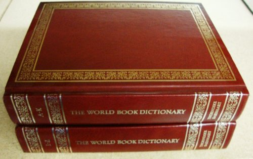9780716602798: The World Book Dictionary 1979
