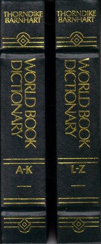 The World book dictionary: Thorndike Barnhart