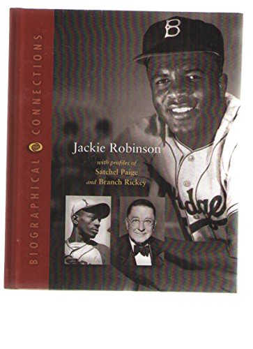 9780716618287: Jackie Robinson: With Profiles of Satchel Paige and and Branch Rickey (Biographical Connections)