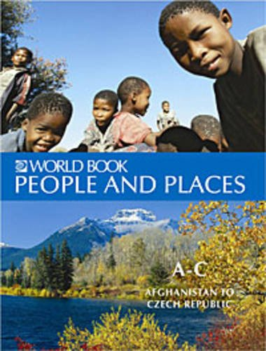 9780716637578: The World Book Encyclopedia of People and Places