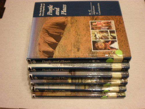 9780716637929: The World Book Encyclopedia of People and Places (6 Volume Set)