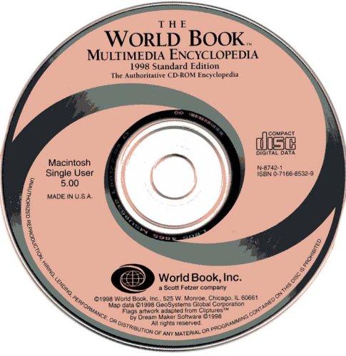 9780716685326: The World Book Multimedia Encyclopedia 1998 Standard Edition (Macintosh)
