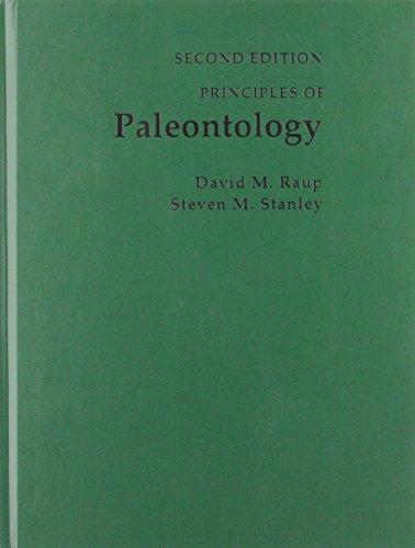 Principles of Paleontology: Steven M. Stanley;