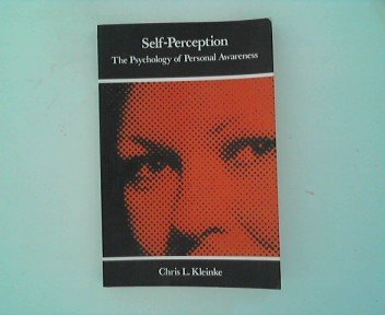 9780716700623: Self Perception: The Psychology of Personal Awareness