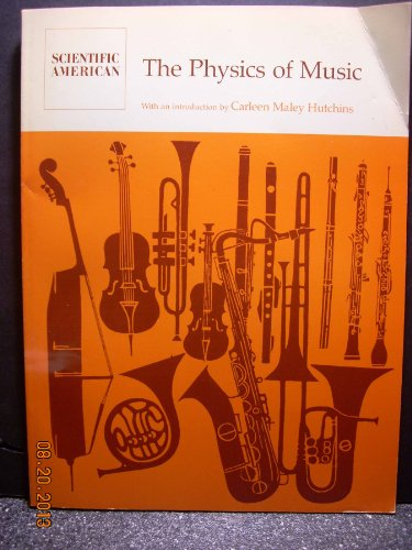 9780716700951: The Physics of Music: Readings from Scientific American