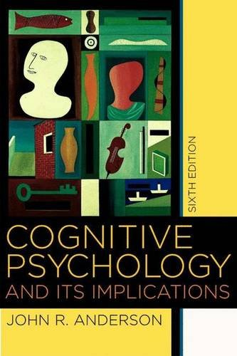 9780716701101: Cognitive Psychology and its Implications, Sixth Edition
