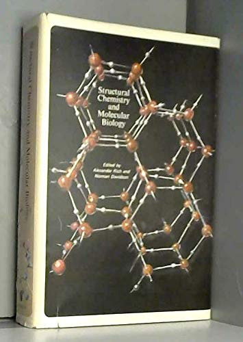 9780716701354: Structural Chemistry and Molecular Biology