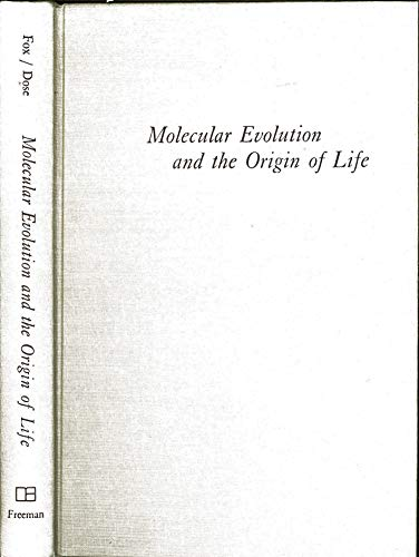 9780716701637: Molecular Evolution and the Origin of Life