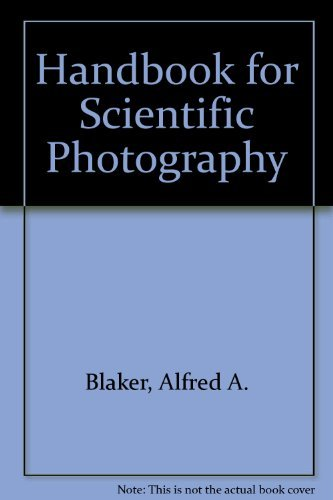 9780716702856: Handbook for Scientific Photography