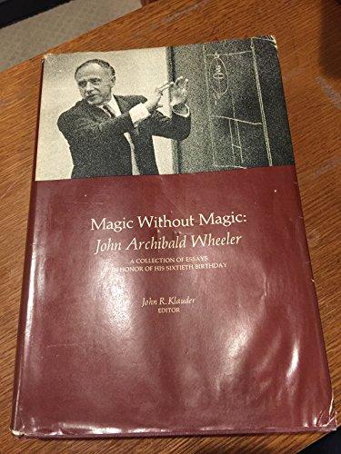 9780716703372: Magic without Magic: John Archibald Wheeler