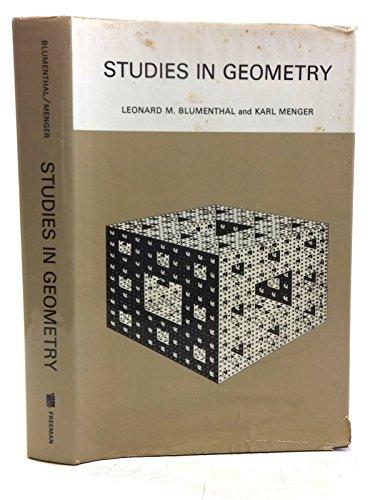 9780716704379: Studies in Geometry (Books in Mathematics)