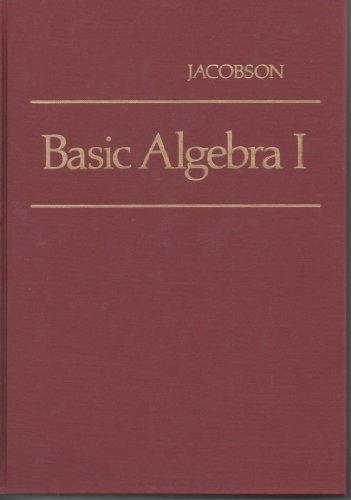 9780716704539: Basic Algebra: Bk. 1