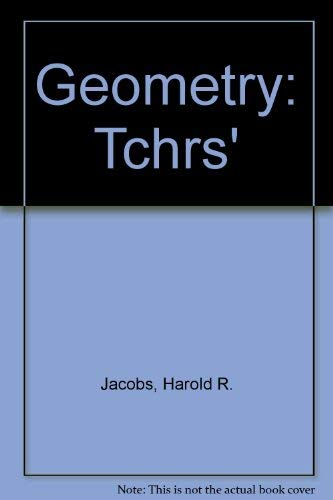 9780716704607: Geometry: Tchrs'