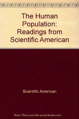 9780716705154: The Human Population: Readings from