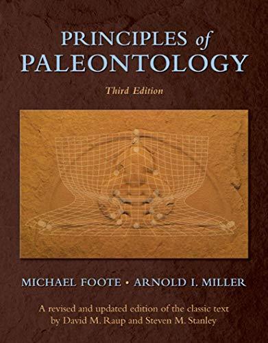 9780716706137: Principles of Paleontology