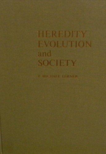 9780716706625: Heredity Evolution and Society