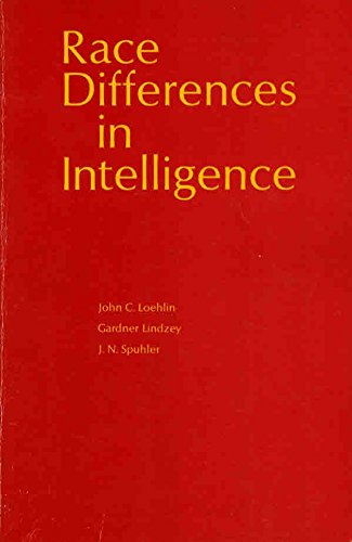 9780716707530: Race Differences in Intelligence