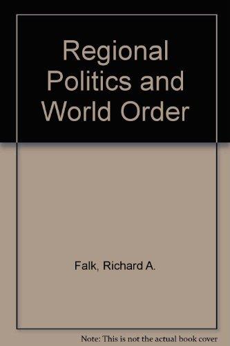 9780716707837: Regional Politics and World Order