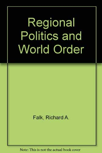 9780716707981: Regional Politics and World Order
