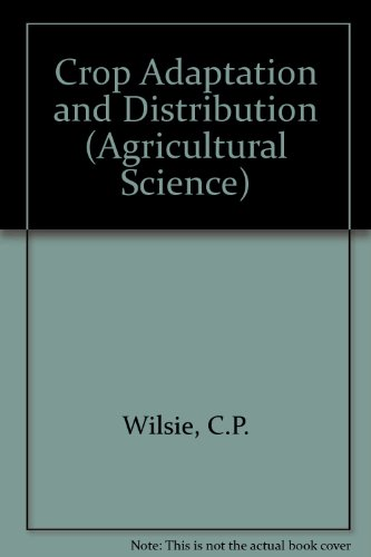 9780716708070: Crop Adaptation and Distribution