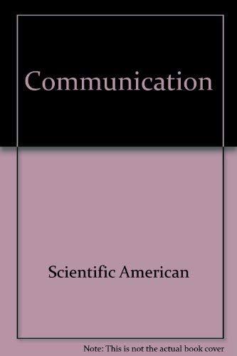 9780716708667: Communication