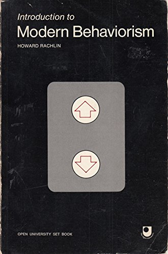 9780716709275: Introduction to Modern Behaviorism