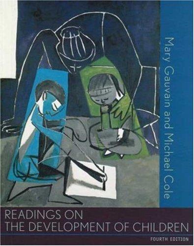 9780716709619: Readings on the Development of Children