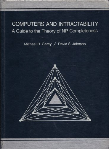 9780716710448: Computers and Intractability: A Guide to the Theory of NP-completeness