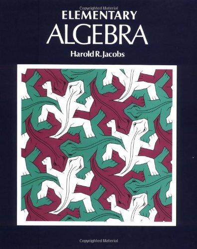 9780716710479: Elementary Algebra