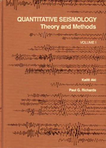 9780716710585: Quantitative Seismology: v.1: Theory and Methods: Vol 1 (A series of books in geology)