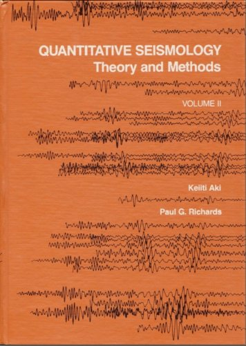 9780716710592: Quantitative Seismology: Theory and Methods: 002