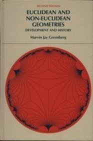 Euclidean and non-Euclidean geometries: Development and history: Marvin J Greenberg