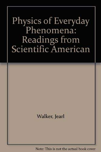9780716711254: Physics of Everyday Phenomena: Readings from