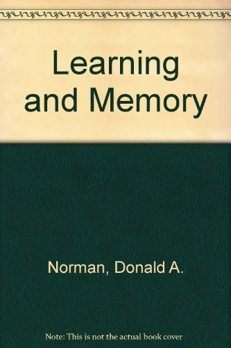 9780716712992: Learning and Memory