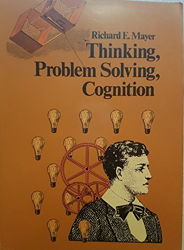 9780716714408: Thinking, Problem Solving, Cognition (A Series of books in psychology)