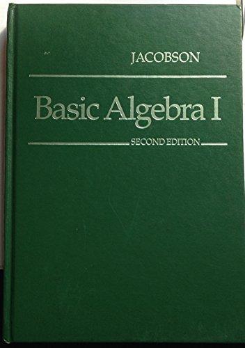 9780716714804: Basic Algebra I (Bk. 1)