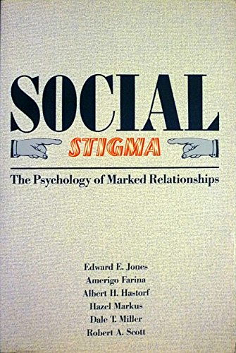 9780716715924: Social Stigma: The Psychology of Marked Relationships
