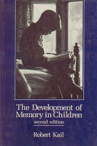 9780716716297: Development Memory in Child 2e: The Human Dimensio (Series of Books in Psychology)