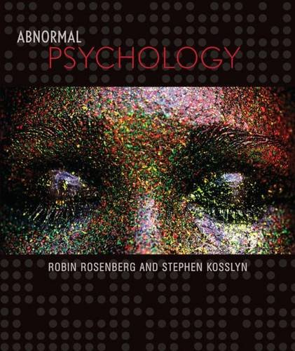 9780716717287: Abnormal Psychology (Readings from Scientific American)