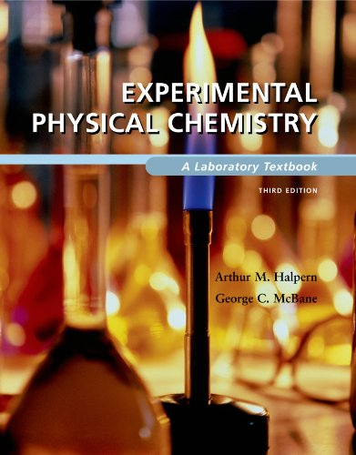 9780716717355: Experimental Physical Chemistry: A Laboratory Textbook